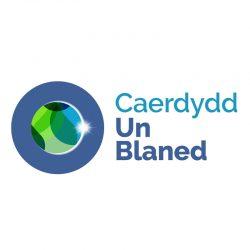 Logo Caerdydd Un Blaned